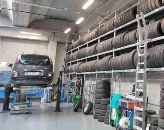 Autofficina: Cambio pneumatici